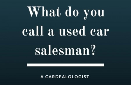 A Used Auto Salesman